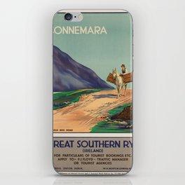 Vintage poster - Ireland iPhone Skin