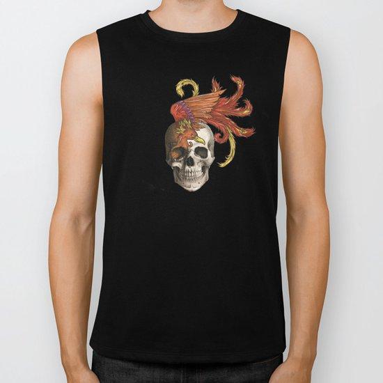 Skull and Phoenix Biker Tank