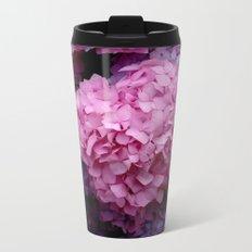 Spring Hydrangeas 3 Metal Travel Mug