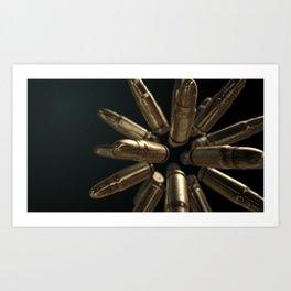 Elegance of a Bullet Edition 3 Art Print