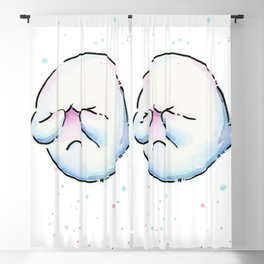 Shy Ghost Blackout Curtain
