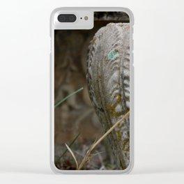 Th Urn Clear iPhone Case