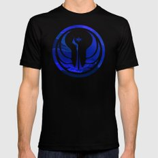 Star Wars Republic MEDIUM Mens Fitted Tee Black