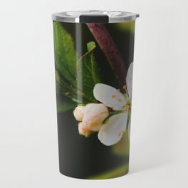 flor blanca Travel Mug