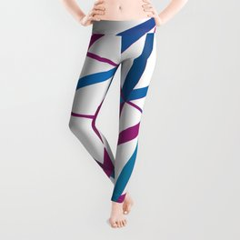 3D Futuristic GEO Lines Leggings