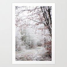 Janvier Art Print