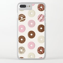DonuTexture Clear iPhone Case