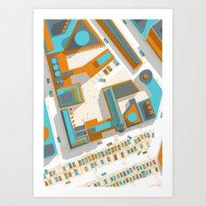Ground #03 Art Print