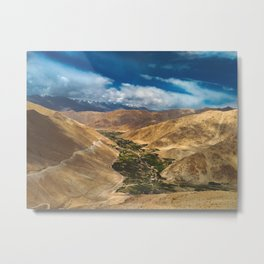 Mountains and Sky Metal Print