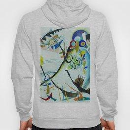 Vassily Kandinsky 1921 Segment blue Hoody