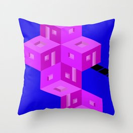 theres a home here inside Throw Pillow