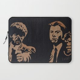 Pulp fiction movie marquetry art Laptop Sleeve