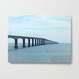 Under the Bridge and Beyond Metal Print