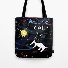 Astro Cat Tote Bag