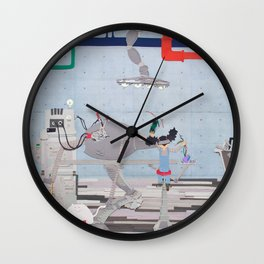 In the Factory Wall Clock