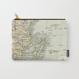 Vintage Map of Africa Carry-All Pouch