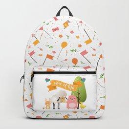 Viva el tofu Backpack