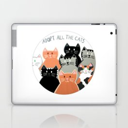 Adopt all the cats Laptop & iPad Skin