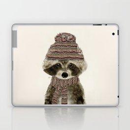 little indy raccoon Laptop & iPad Skin