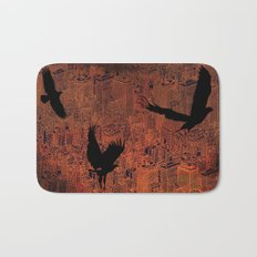 Ecotone (night) Bath Mat