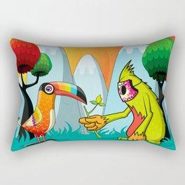 Magic Breed Rectangular Pillow