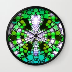 NEON NIGHTS II Wall Clock