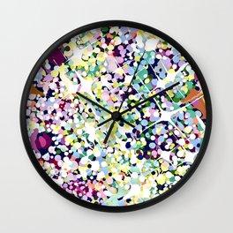 CRYSTAL HEADDRESS Wall Clock