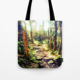 Zealand Forest Tote Bag