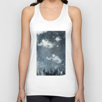 cloud Tank Tops featuring The cloud stealers by HappyMelvin