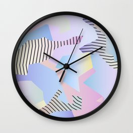 Abstract gradient 2 Wall Clock