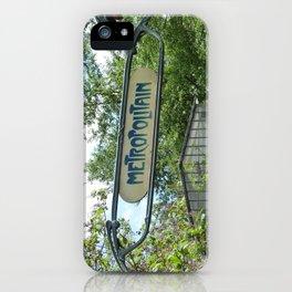 Metropolitain iPhone Case