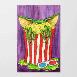 Be Careful What You Eat Canvas Print
