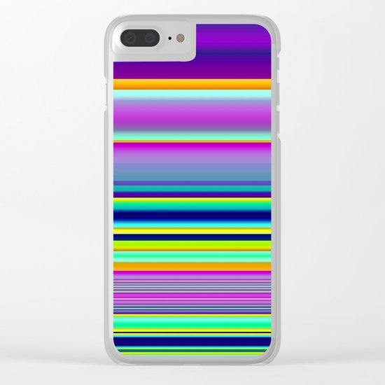 Horizontal Clear iPhone Case