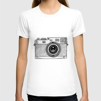camera T-shirts featuring Camera by Adam Lindfors