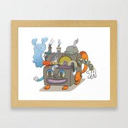 The Novelty Machine Framed Art Print