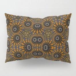 Staring eyes of weird mandalas Pillow Sham