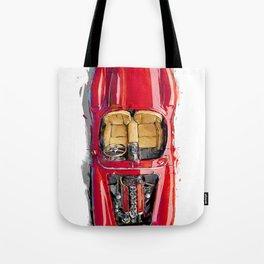 Rosso Corsa Tote Bag