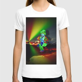 Creations in the color spectrum of the rainbow - Clown T-shirt