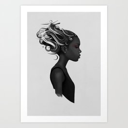 Hard to say Art Print