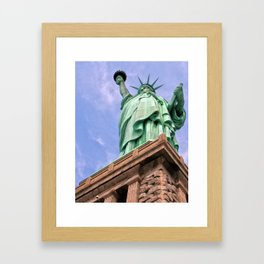 Statue of Liberty Framed Art Print