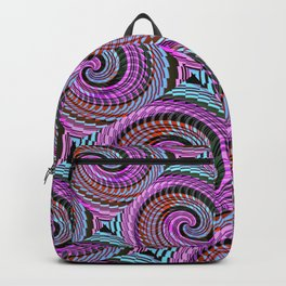 Colorful Decorative Buns #2 Backpack
