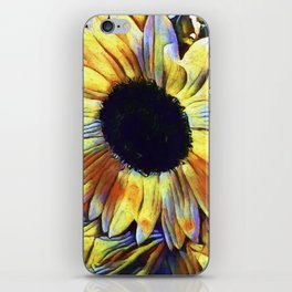 Sunflower After The Storm iPhone Skin