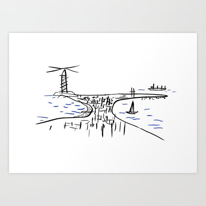 Coruña de memoria Kunstdrucke