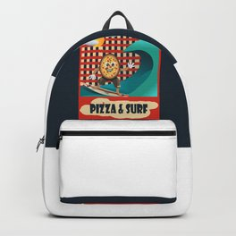 Pizza and Surf Backpack