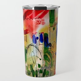The Colors of Menton! Travel Mug