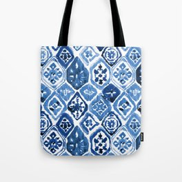 Arabesque tile art Tote Bag