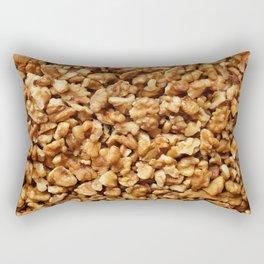 Chopped walnuts Rectangular Pillow