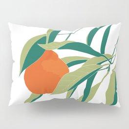 Tangerine on Branch Pillow Sham