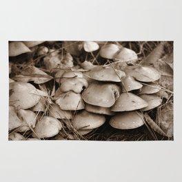 Earthy Mushrooms Rug