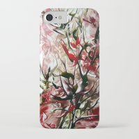 magnolia iPhone & iPod Cases featuring Magnolia by ART de Luna